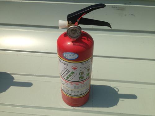 常見滅火器使用方法